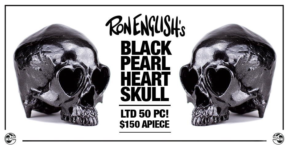 Black Friday Special Releases Ron English Black Pearl