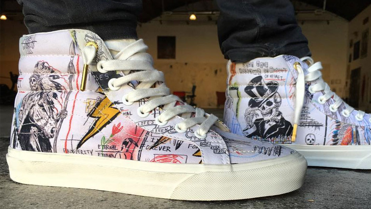 cc3a9a6bbe6817 Wes Lang x Vans Create Limited Edition Sk8 Hi Sneakers