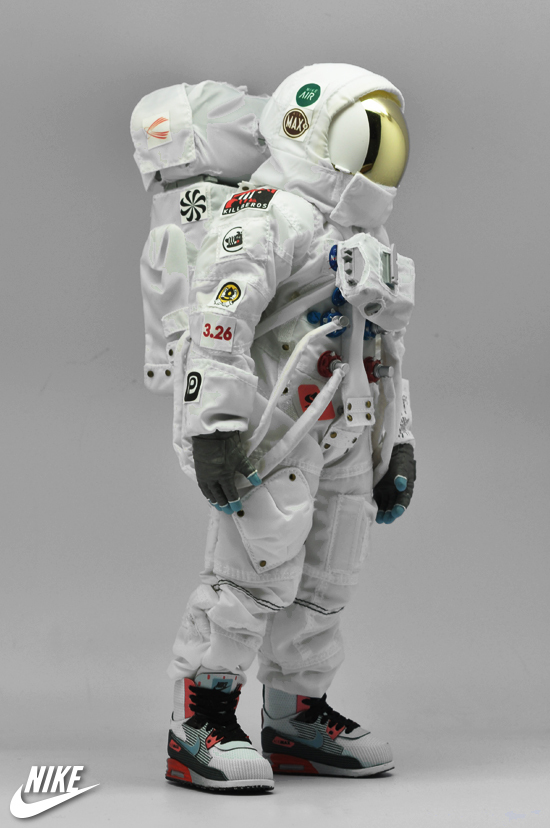 Nike Air Max Astronaut By Coolrain Clutter Magazine