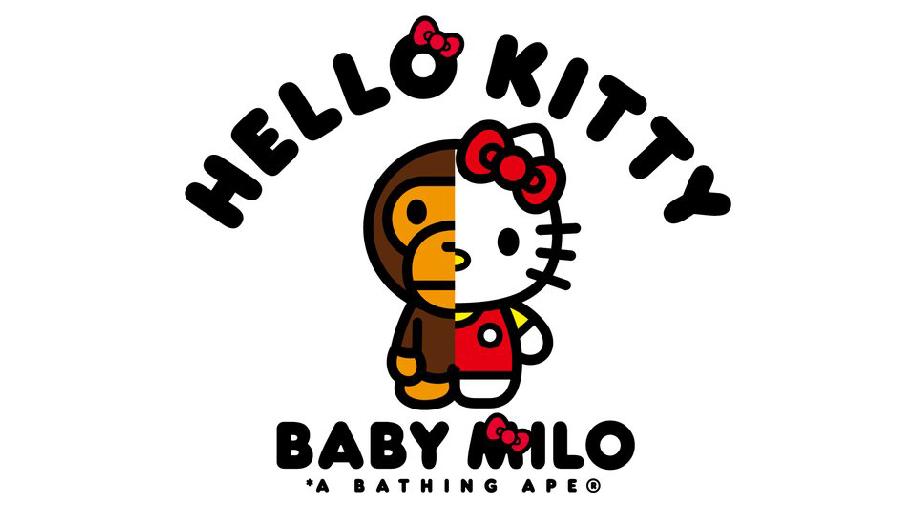 New BAPE Baby Milo X Sanrio Hello Kitty Collaboration Teased