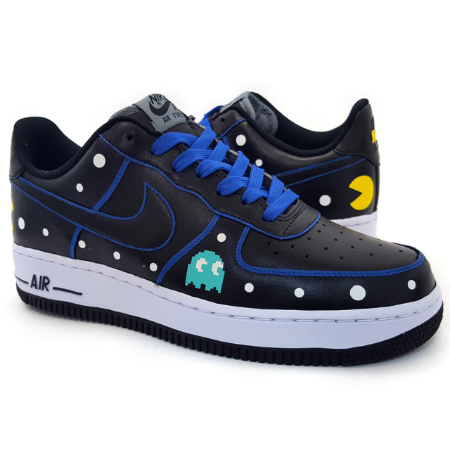 Custom Pac-Man Sneakers by Sekure D | Clutter Magazine