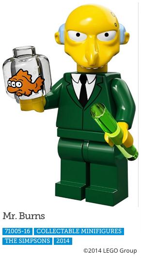 Mr. Berns LEGO Minifigure