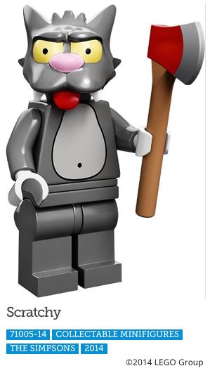 Scratchy LEGO Minifigure