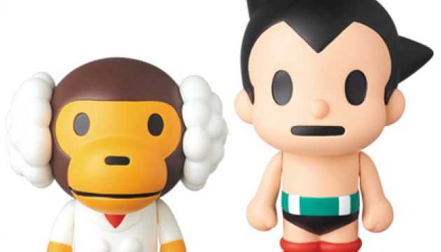 Astro Boy VCD Vinyl Collectible Doll by BAPE x Medicom