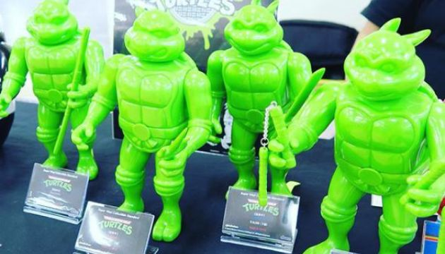 TMNT Teenage Mutant Ninja Turtles Sofubi Toy Series by Dune