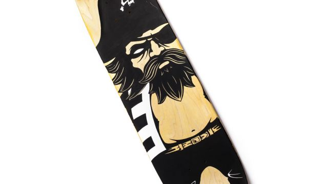 jon-paul kaiser skateboard deck