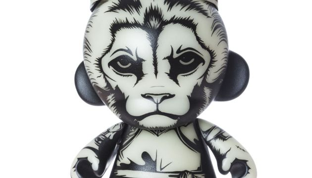 "King Lion Custom 8"" Munny by JPK"