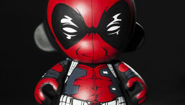 Custom Deadpool Mini Munny by JPK