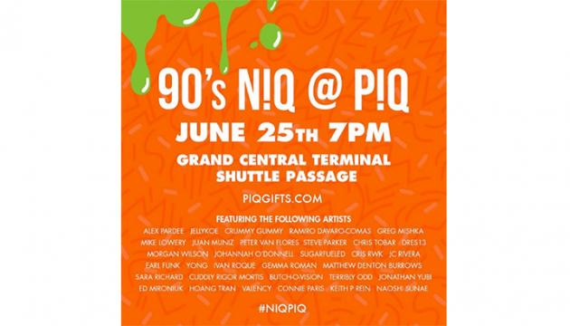 90s NIQ at PIQ Grand Central