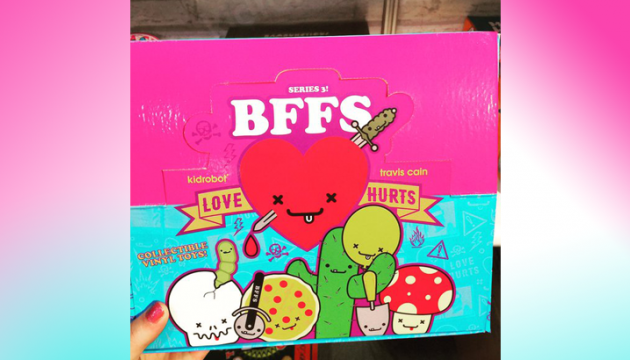 BFFs Series 3 by Travis Cain x Kidrobot