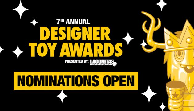 Nominations Open for the 7th Annual Designer Toy Awards!