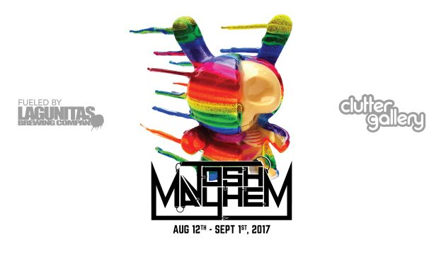 Clutter Gallery Presents: Josh Mayhem a solo show!