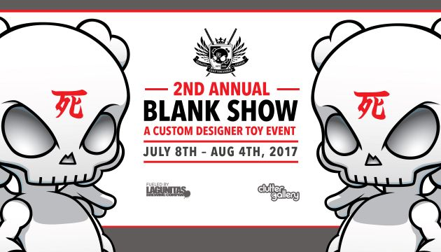 Clutter Gallery Presents: The 2nd Annual Blank Show!