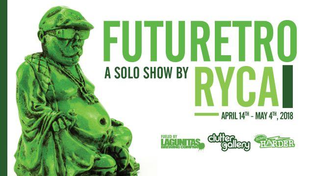 Clutter Gallery Presents: FUTURETRO - A RYCA solo show!