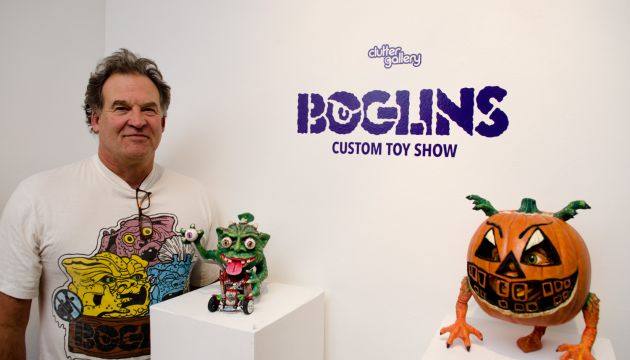 """Boglins"" Custom Show round up @ Clutter Gallery!"