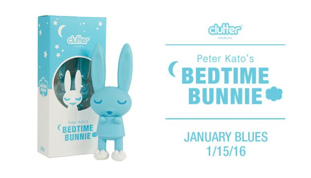 Peter Kato's Bedtime Bunnie coming in vinyl from Clutter!