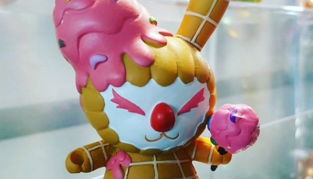 ESC-Toy Dropping Ice Cream Felony Dunny This Week