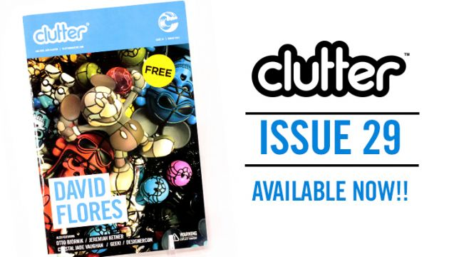 David Flores Clutter Magazine Issue 29