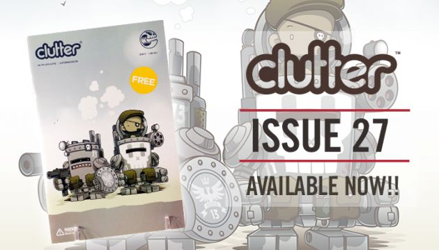 Clutter Magazine issue 27 Huck Gee