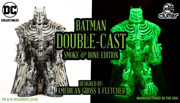 We teamed up with DC Collectibles to reveal Batman's darker instincts lurking inside!