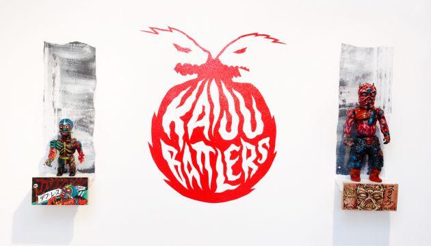 Kaiju Battlers @ Clutter Gallery Photo Round Up!