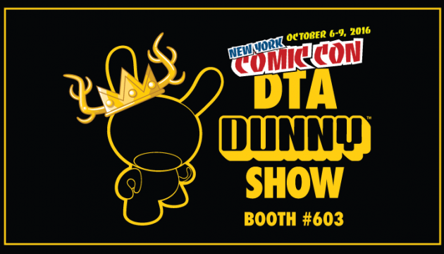 Clutter and Kidrobot announce the NYCC DTA DUNNY Show!