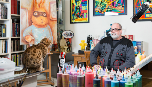 Frank Kozik art collection