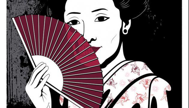 jpk geisha print