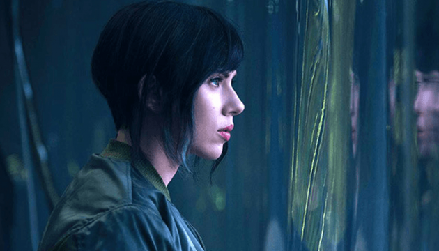 Scarlett Johanson Ghost in the Shell