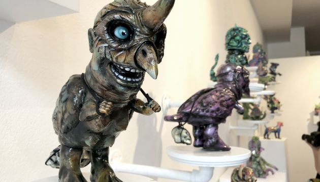 Clutter Gallery Presents: The Great Unknown!  Remjie, Seymour, & Wonder Goblin!