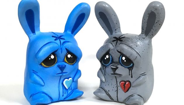 Lil Voodoo Bunnies by Jfury