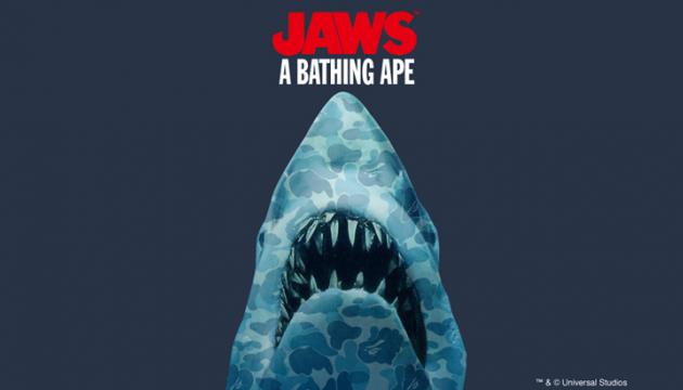 Jaws x BAPE