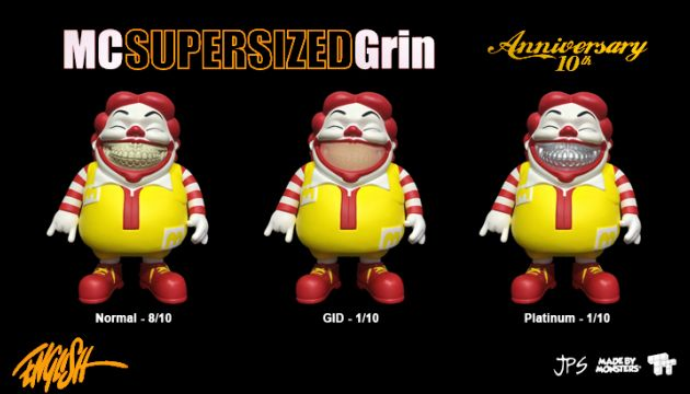 "Ron English's ""MC Supersized Grin: 10th Anniversary"" Release!"