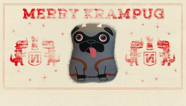 """Nerfect Artistic Novelties's """"Krampug"""" plush for DCon!"""