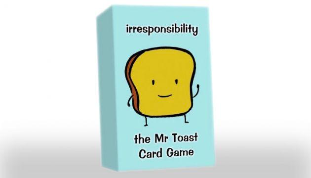 "Dan Goodsell's ""Mr Toast Card Game"" on Indiegogo"