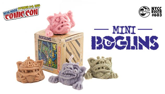 NYCC 16 EXCLUSIVE: MINI BOGLINS BLINDBOX SERIES