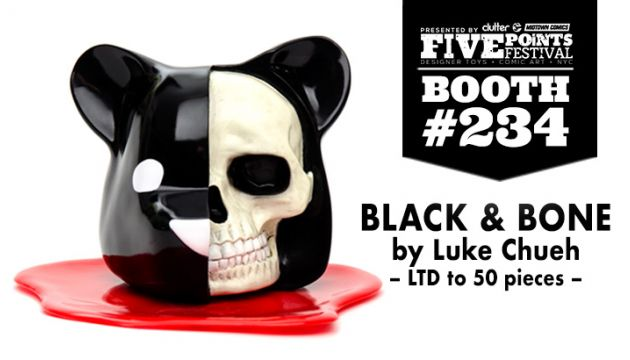 FIVE POINTS FEST EXCLUSIVE: LUKE CHUEH BLACK & BONE!
