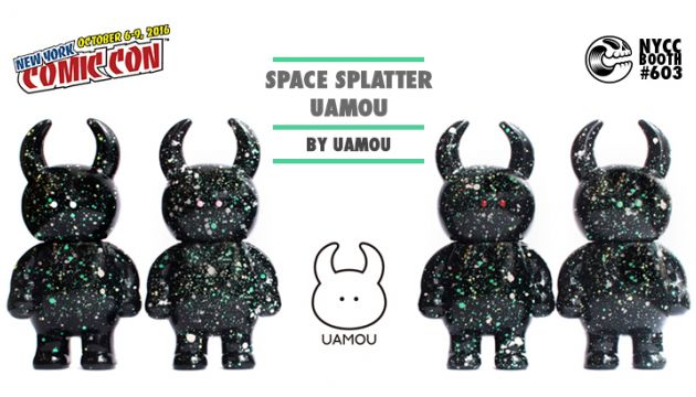 NYCC 16 EXCLUSIVE: SPACE SPLATTER UAMOU