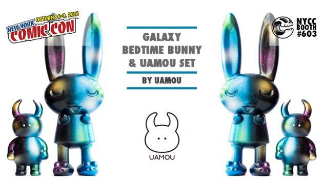 NYCC 16 EXCLUSIVE: Galaxy Bedtime Bunny & Uamou Set
