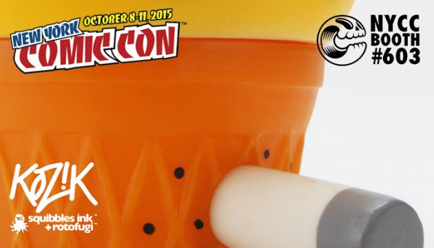 "Frank Kozik's ""Candy Corn Jerome"" for NYCC!"