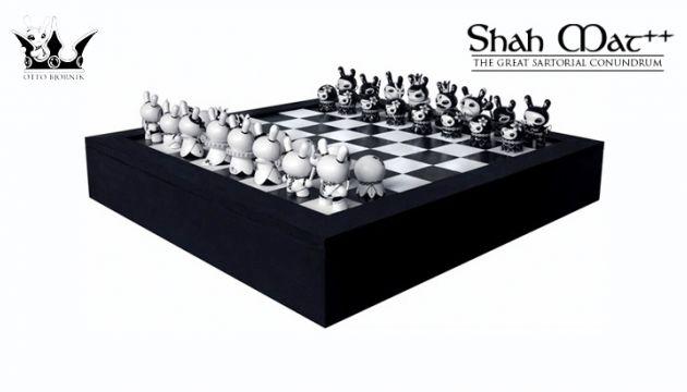 Otto Björnik x Kidrobot's Shah Mat Dunny Chess Series