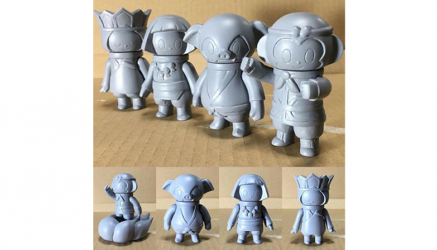 P.P.Pudding sofubi