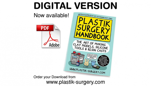 Plastik Surgery Resin Casting Guide by Lunartik