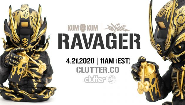 Mr. Kum Kum x Quiccs;  Ravager!!