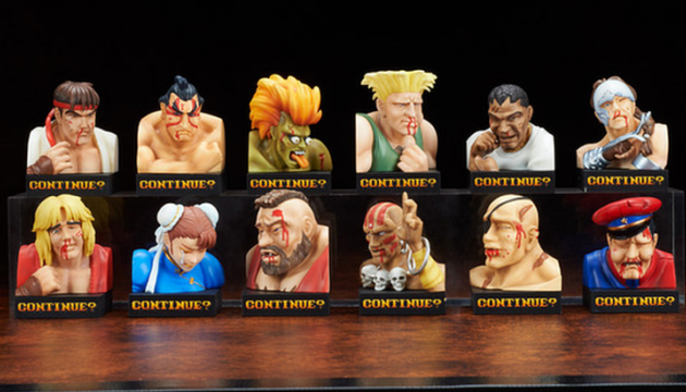Street Fighter II Toys