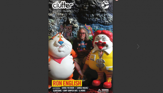 Clutter Magazine Issue 30 Ron English