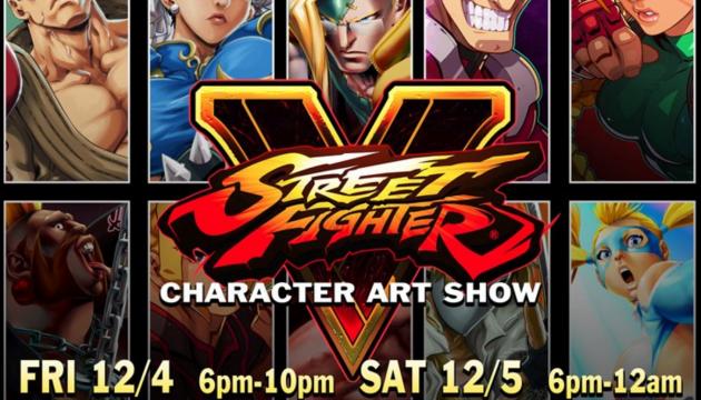 BAIT SF to Host Street Fighter V Art Show