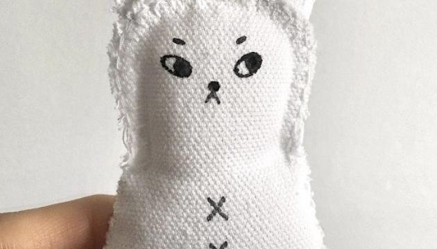 Snowbear Plushy by Andrea Kang