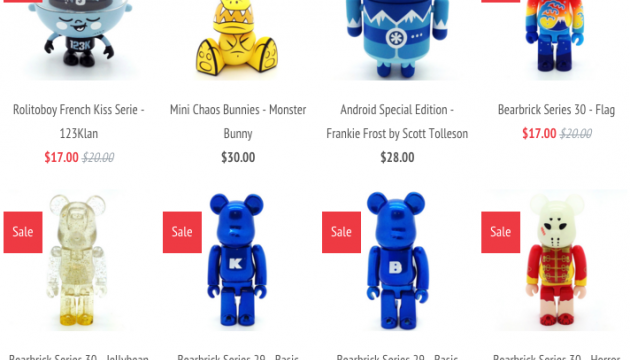 Mindzai Treasure Chest Features Old & Rare Vinyl Designer Toys