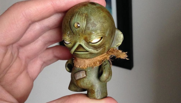 Swampy Custom Munny by Squink